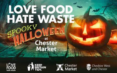 Spooky hallowe'en with Love Food Hate Waste