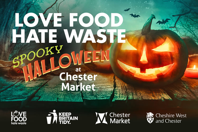Spooky hallowe'en with Love Food Hate Waste