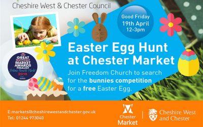 Easter Egg Hunt – Friday 19 April, 12noon until 3pm