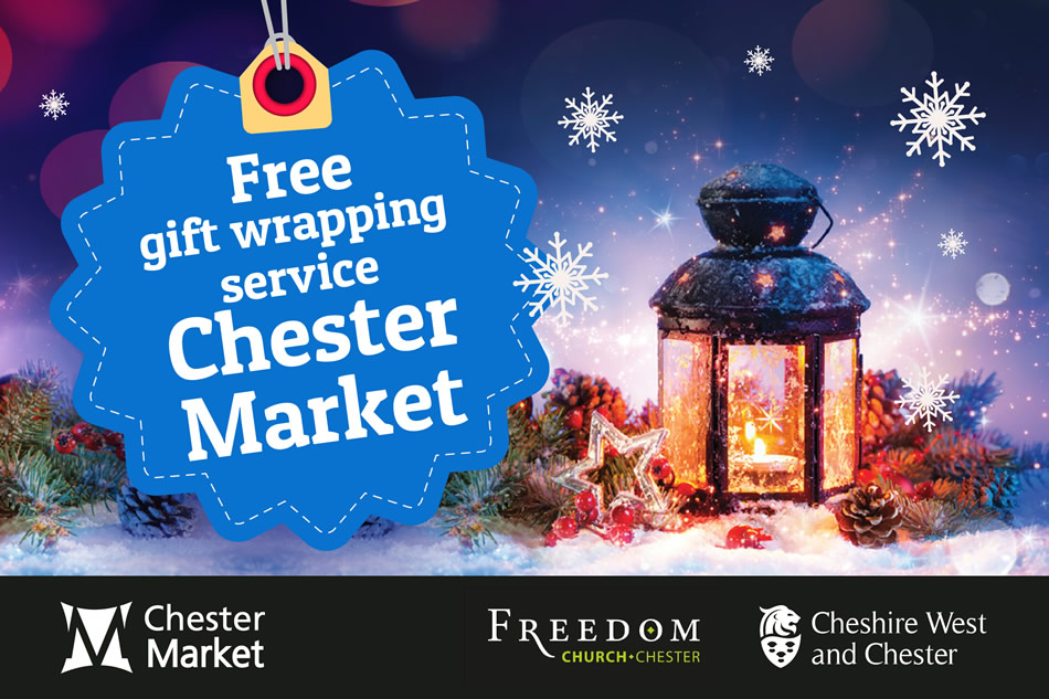 Free Christmas gift wrapping service